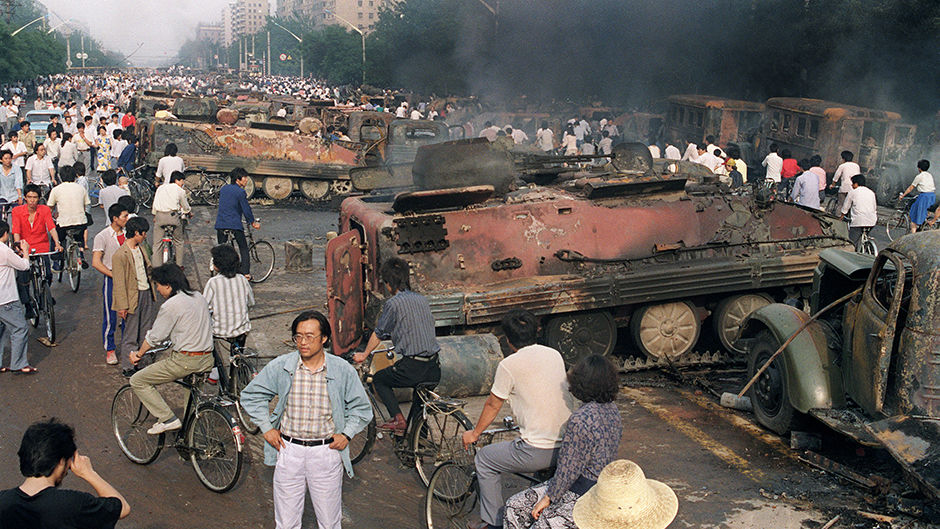 CHINA-BEIJING SPRING-TIANANMEN-MASSACRE