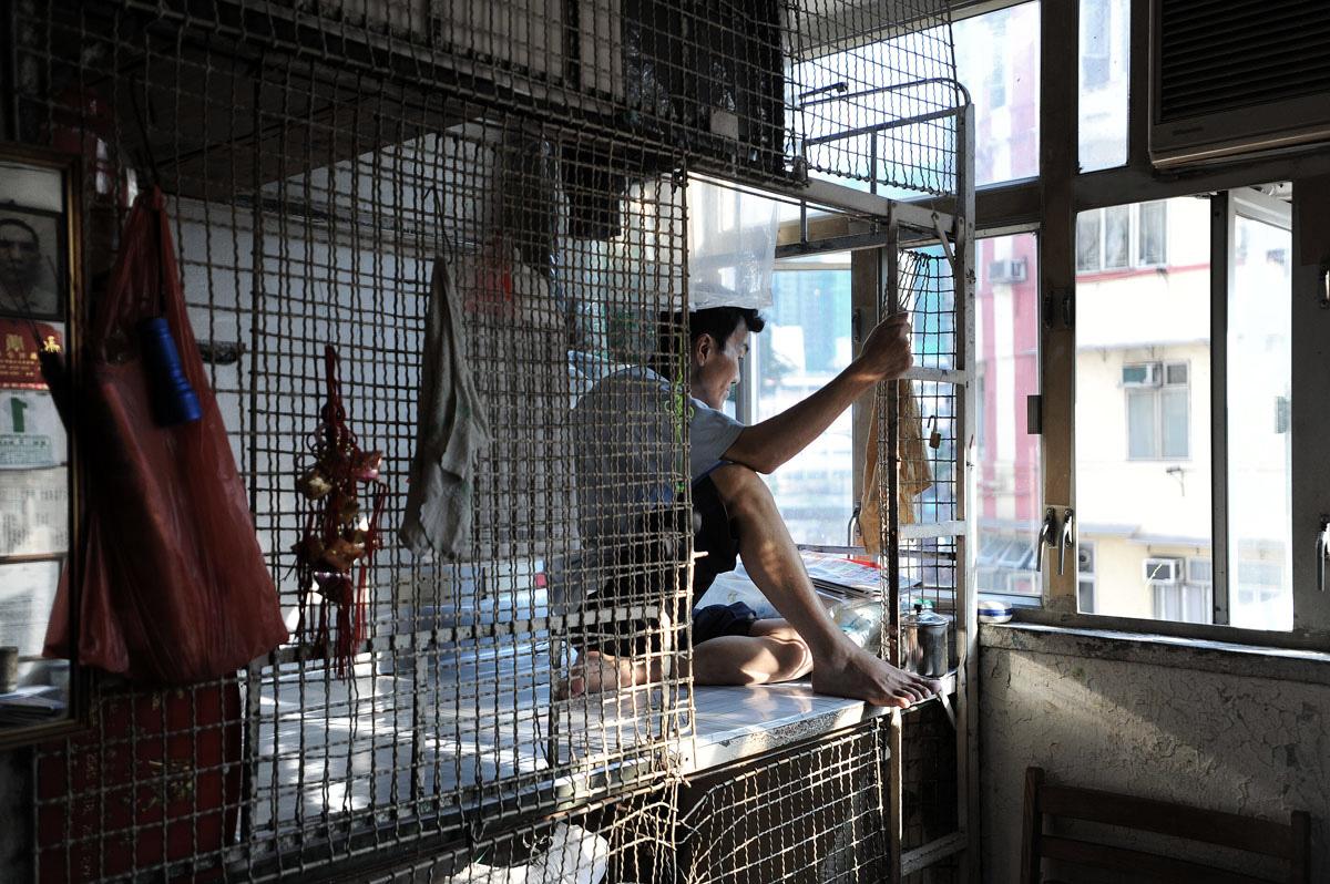 Caged Living Hong Kong According To Ken
